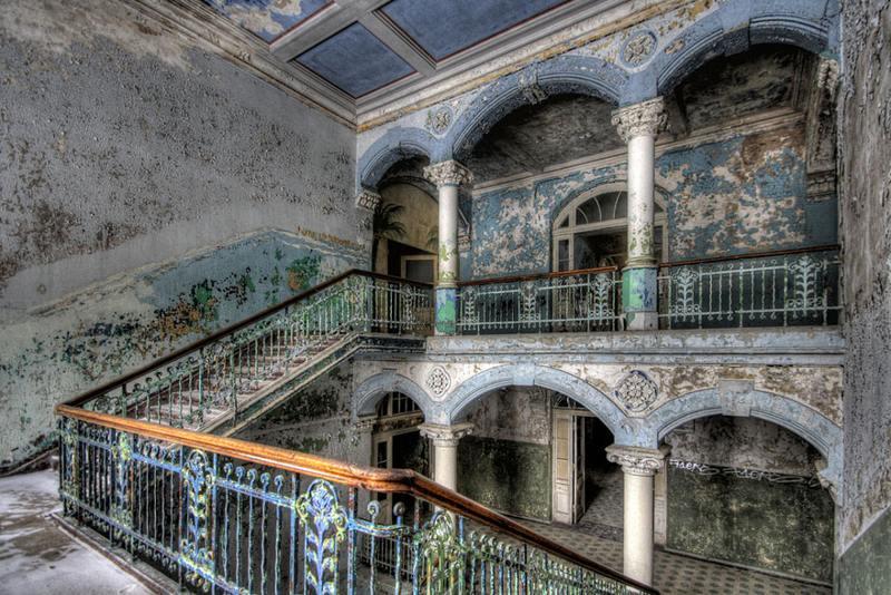 Spital-militar-abandonat-Beelitz-Germany.