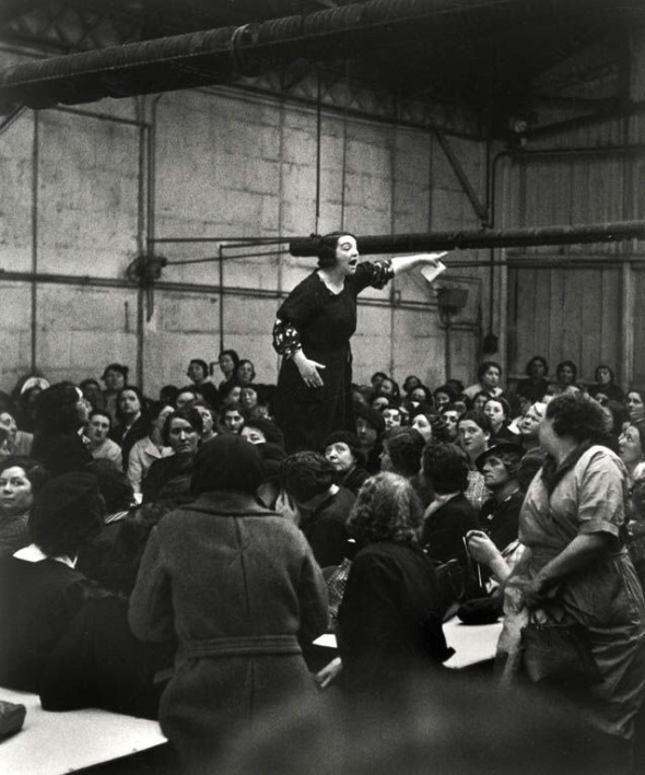 Greva femeilor la Citrone, 1930