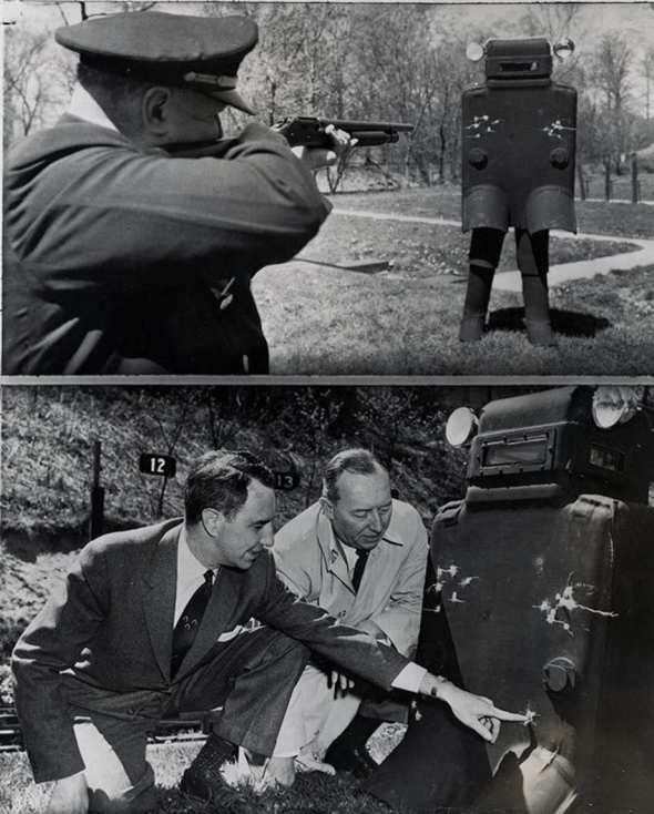 Vestă anti-glonț, 1958