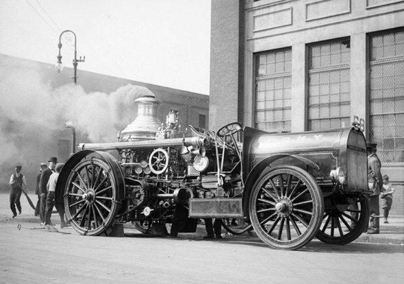 Departamentul Pompierilor, New York, 1910