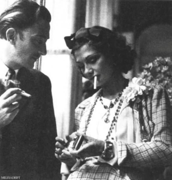 Salvador Dali și Coco Chanel